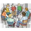 Gesprächs-Gruppe